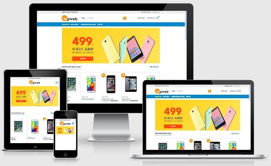 Thiết kế web điện thoại di động