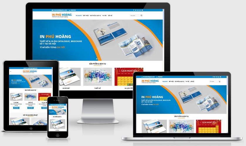 Thiết kế web in ấn