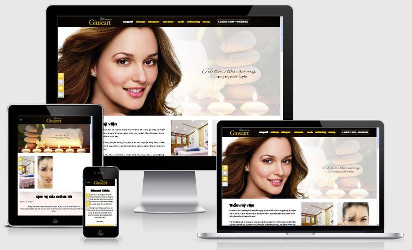 Thiết kế website thẩm mỹ viện