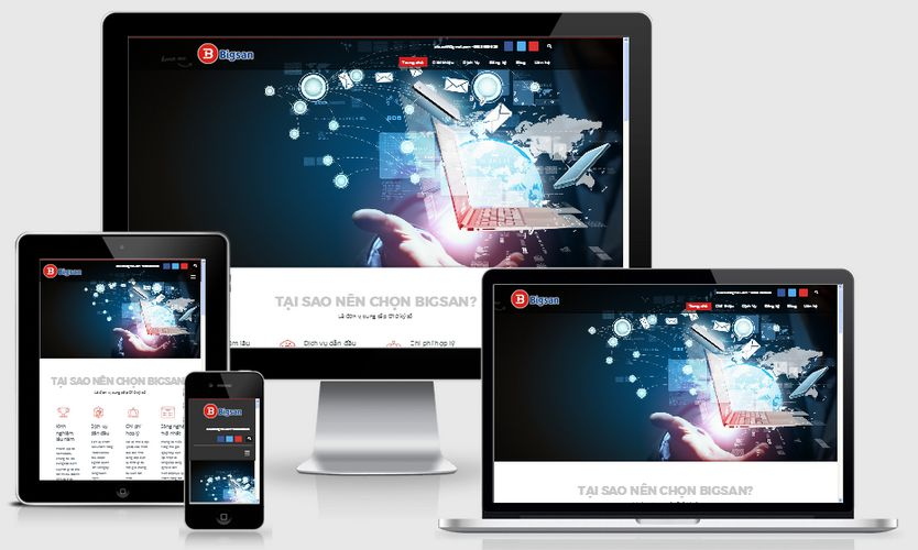Mẫu website công ty chữ ký số