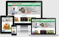 Thiết kế web giới thiệu công ty tại Hà Nội chuẩn SEO chuẩn mobile 3