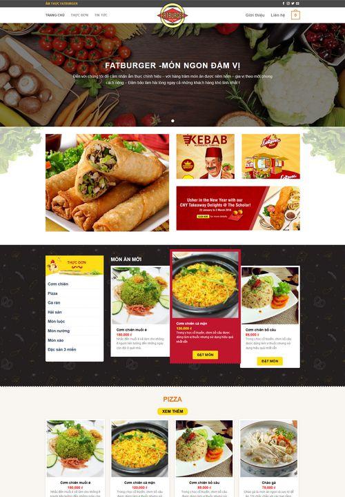 Mẫu website ẩm thực đẹp 4